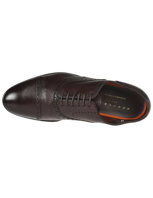 мужские коричневые кожаные Броги Henderson Baracco 69303.0 - фото-5
