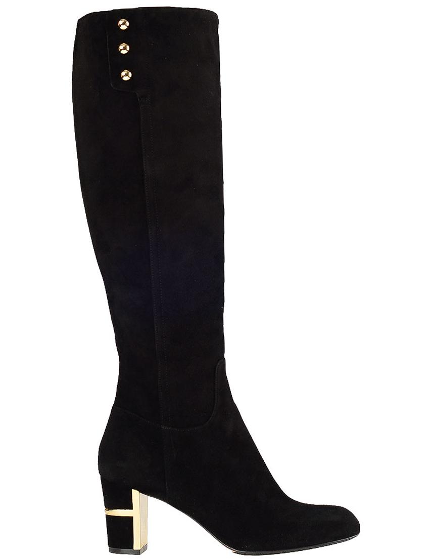 Купить Сапоги на каблуке, GIOVANNI FABIANI, Черный, Осень-Зима