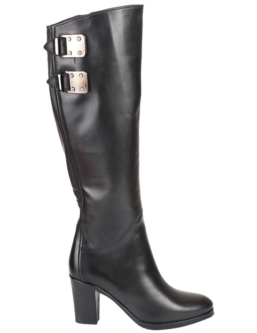 Купить Сапоги на каблуке, LE PEPE, Черный, Осень-Зима