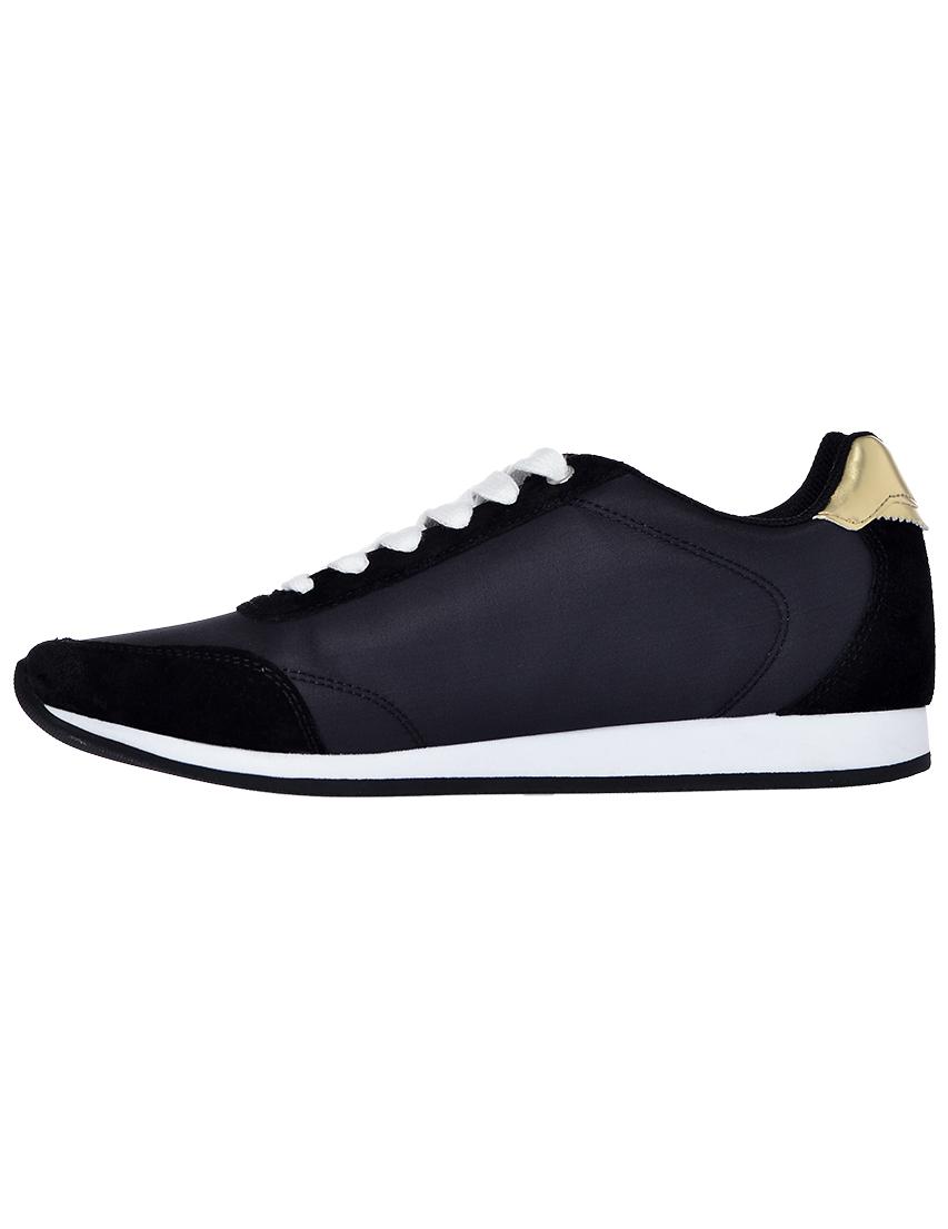 Фото 3 - женские кроссовки  черного цвета