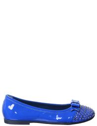 Детские туфли для девочек MISS BLUMARINE D0116_verniceblue