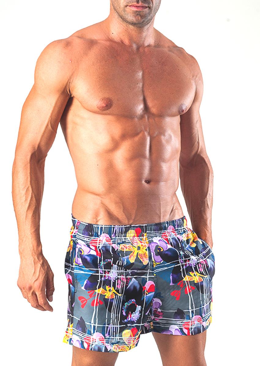 Мужские шорты пляжные GERONIMO 1504p1Red