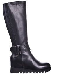 Женские сапоги GIANFRANCO BUTTERI 43017-black