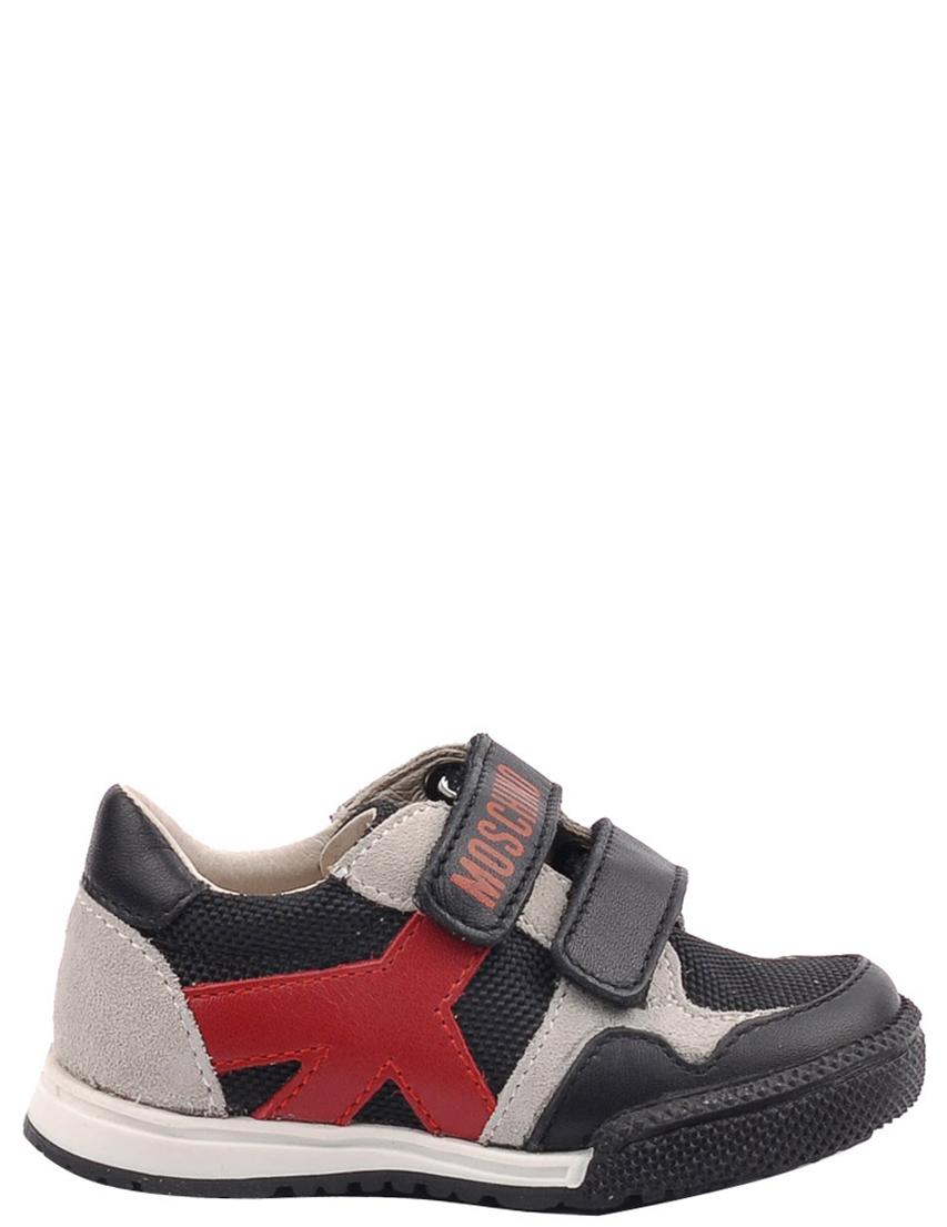 Детские кроссовки для девочек MOSCHINO 25398-black