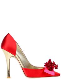 Женские туфли Ines de la Fressange G2256_red