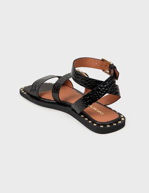 женские черные Босоножки Emporio Armani X3P725XF266-00002 - фото-2