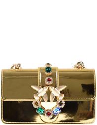 Женская сумка Pinko 1P10RY3XL-gold