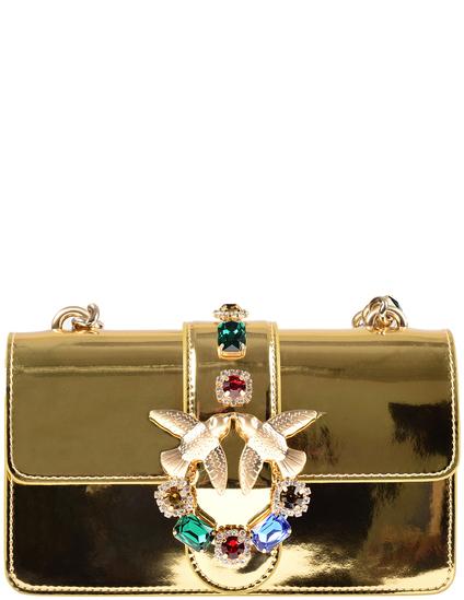 7b3de8d02858 Сумка Pinko 1P10RY3XL-gold_86607 (Золотой) в интернет магазине Modoza.com  Продано