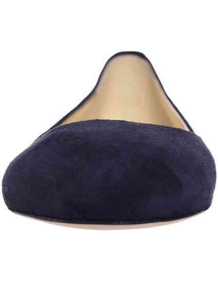 синие Балетки Ines de la Fressange 52003_temno_siniu размер - 36