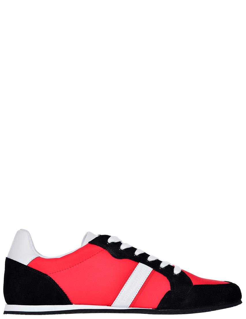 Фото - мужские кроссовки  красного цвета