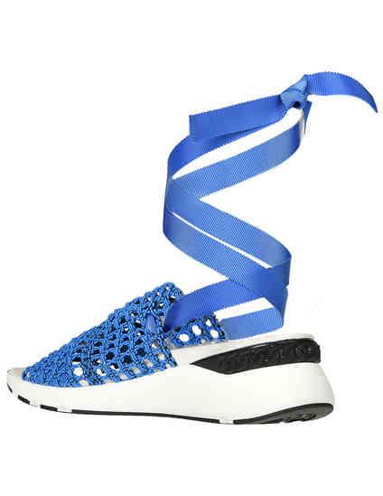 синие женские Босоножки Casadei 560-blue 8803 грн