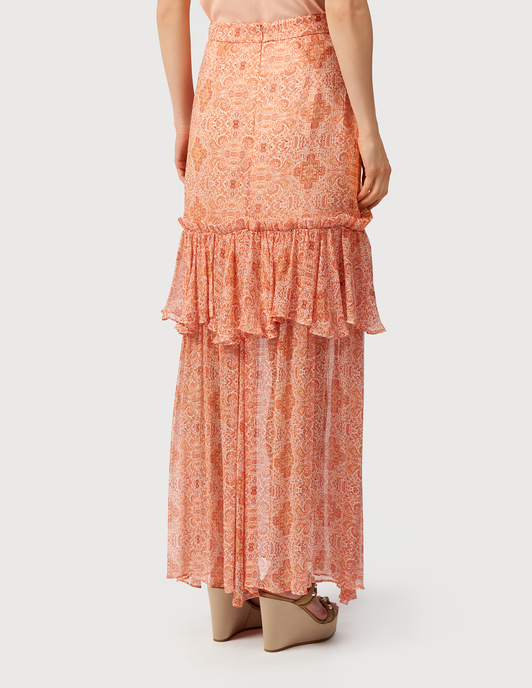 Thurley TH-SS19-SK1647-BALMY-NIGHT-maxi-coral фото-3