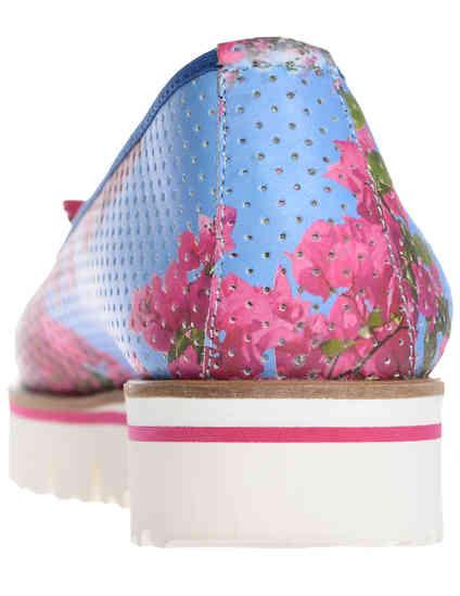 женские многоцветные Балетки Luigi Traini AGR-2000-DM - фото-2