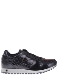 Мужские кроссовки Roberto Cavalli 1067_black