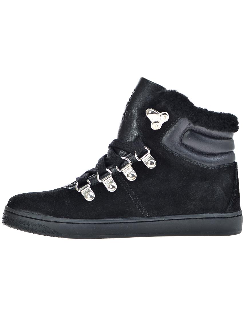 Фото 4 - Ботинки черного цвета