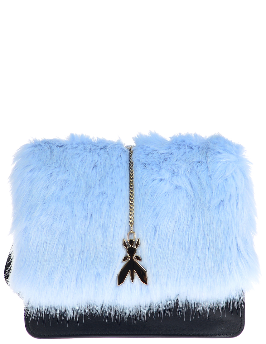 Купить Женские сумки, Сумка, PATRIZIA PEPE, Голубой, Осень-Зима