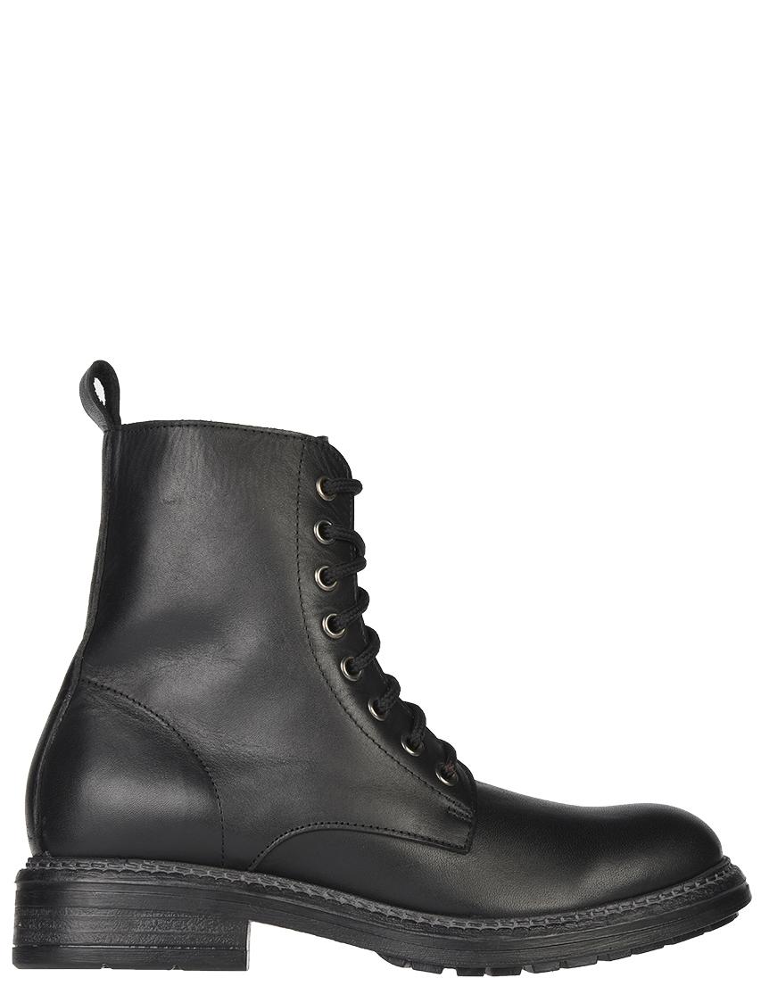 Женские ботинки J.J.Delacroix 1501-black