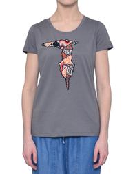 Женская футболка TRUSSARDI JEANS 56T42-16_grey