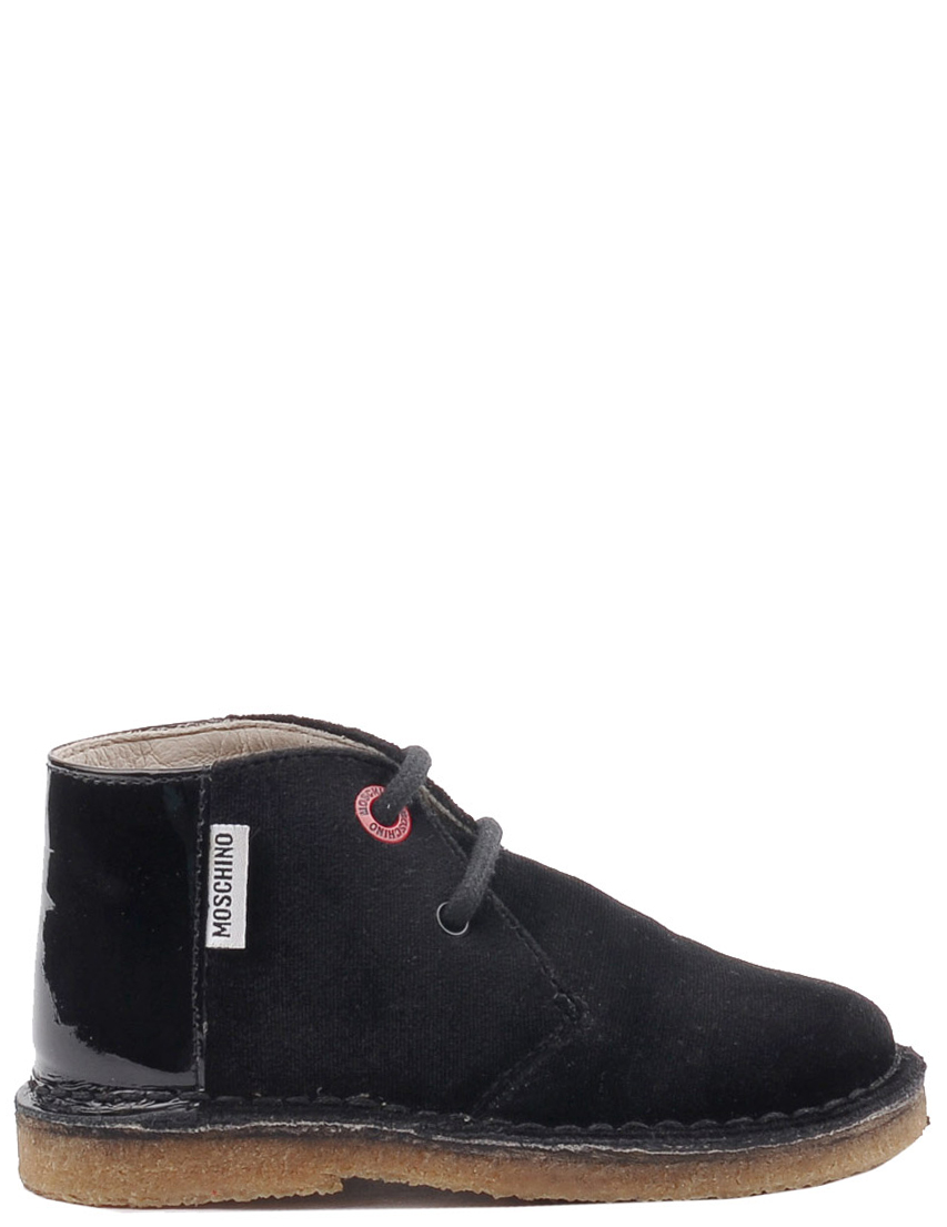 Детские ботинки для девочек MOSCHINO 25370-black