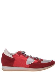 Мужские кроссовки PHILIPPE MODEL STRLUWX18_red