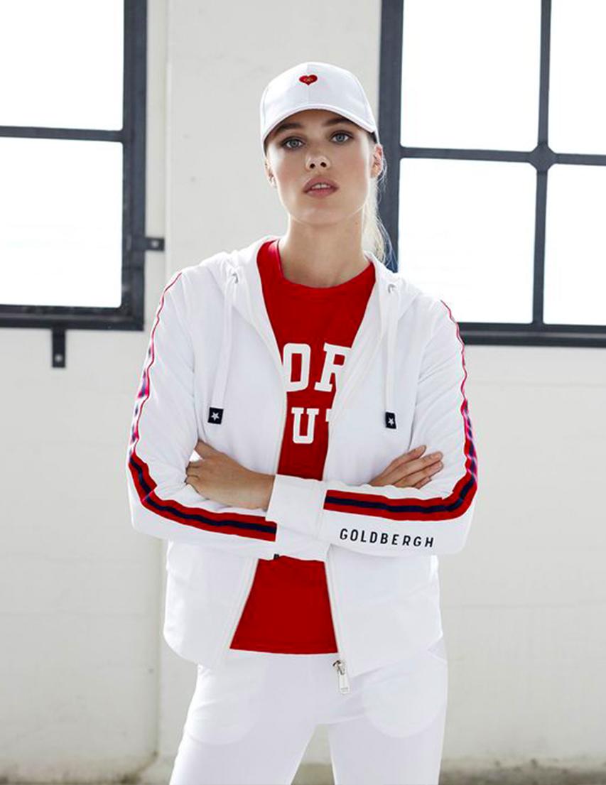 Женская спортивная кофта GOLDBERGH GB4010181-800_white