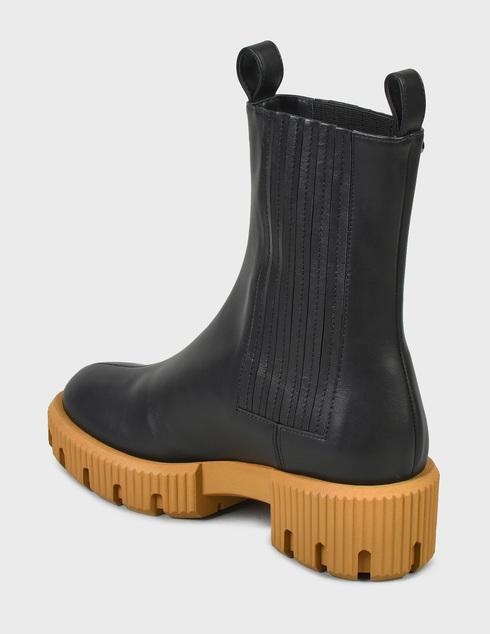 женские черные Ботинки Baldinini D2B620VIGE0000 - фото-2