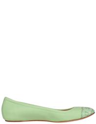 Женские балетки CASADEI 132_green