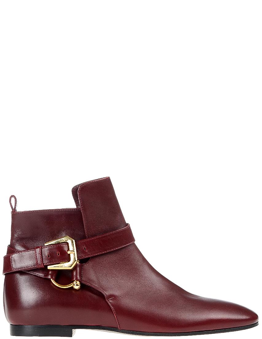 Купить Ботинки, INES DE LA FRESSANGE, Бордовый, Осень-Зима