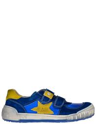 Детские кроссовки для мальчиков Naturino Alden-azzurro-giallo_blue