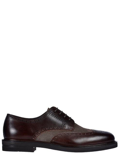 мужские коричневые кожаные Дерби Henderson Baracco 59216.1 - фото-5
