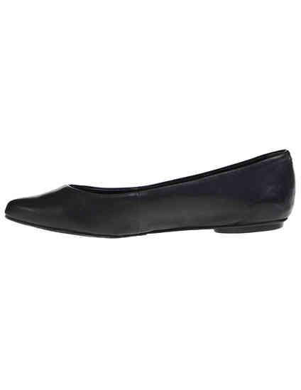 женские черные кожаные Балетки Schutz 4233-8805_black - фото-5