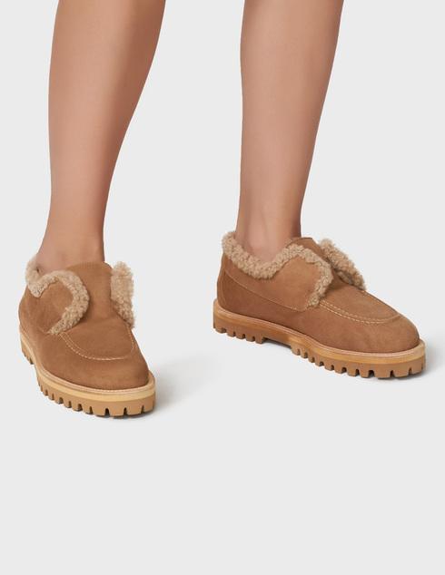 бежевые Ботинки Le Silla AGR-5182T020-GINGER