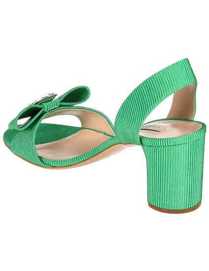 зеленые женские Босоножки Casadei 545-green 16388 грн