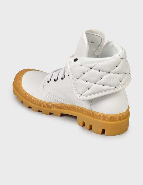 белые женские Ботинки Baldinini D2BS28NAPI9002 16900 грн