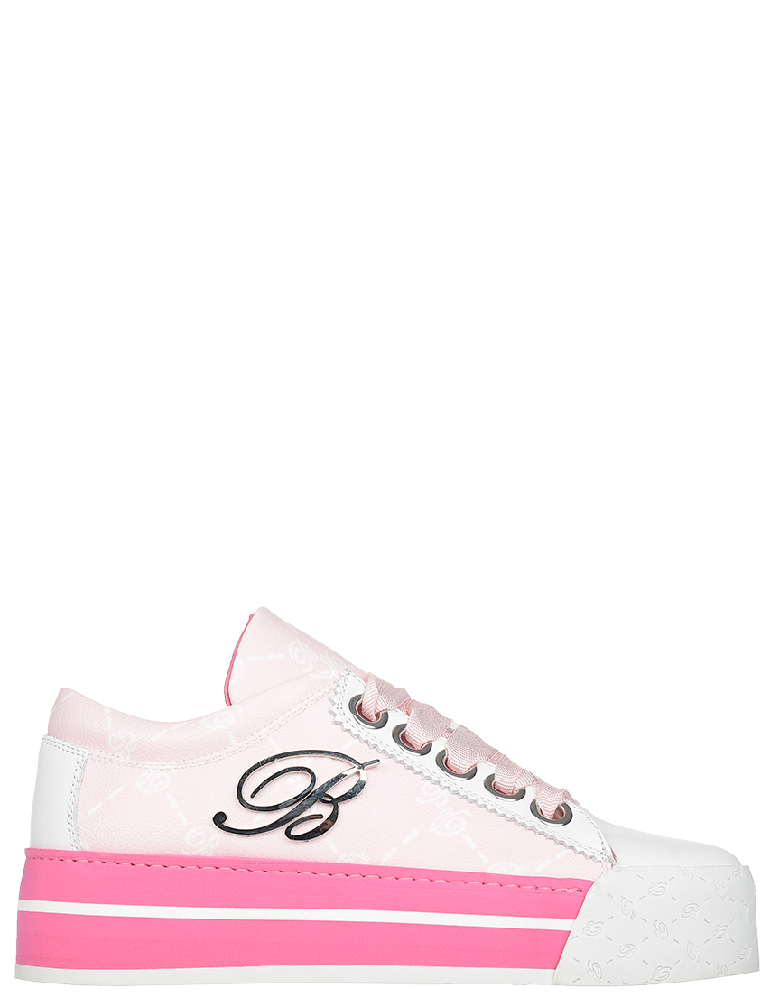 Женские кеды Blumarine AGR-4328d-pink