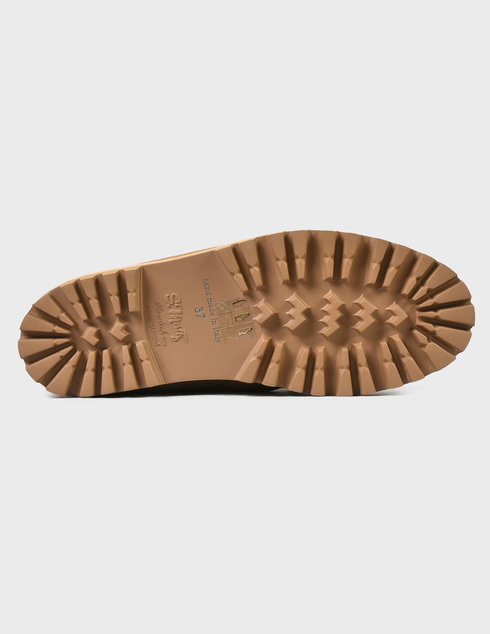 женские бежевые замшевые Ботинки Le Silla AGR-5182T020-GINGER - фото-5