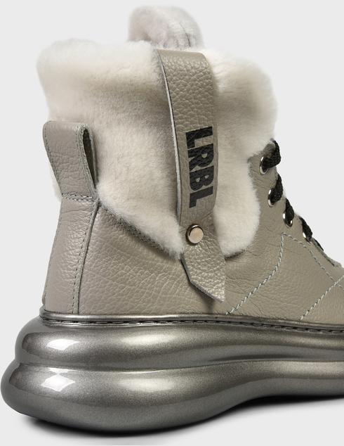 женские серые Ботинки Loriblu AGR-1IXV0245XV - фото-6