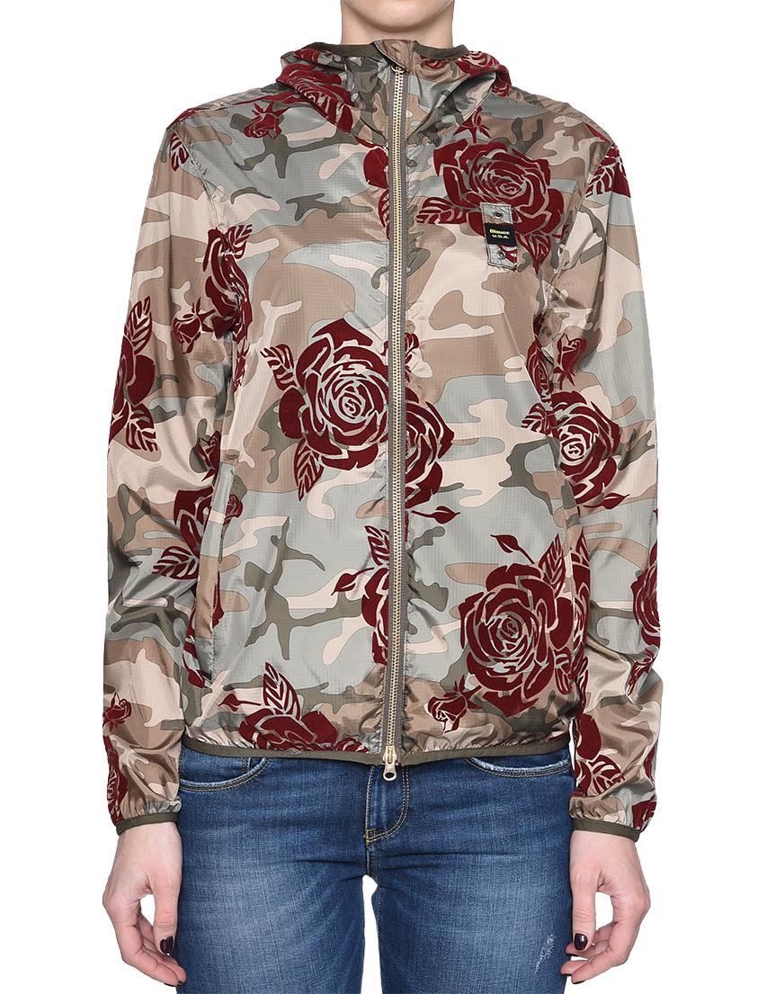 Купить Куртка, BLAUER, Многоцветный, 100%Полиэстер, Весна-Лето