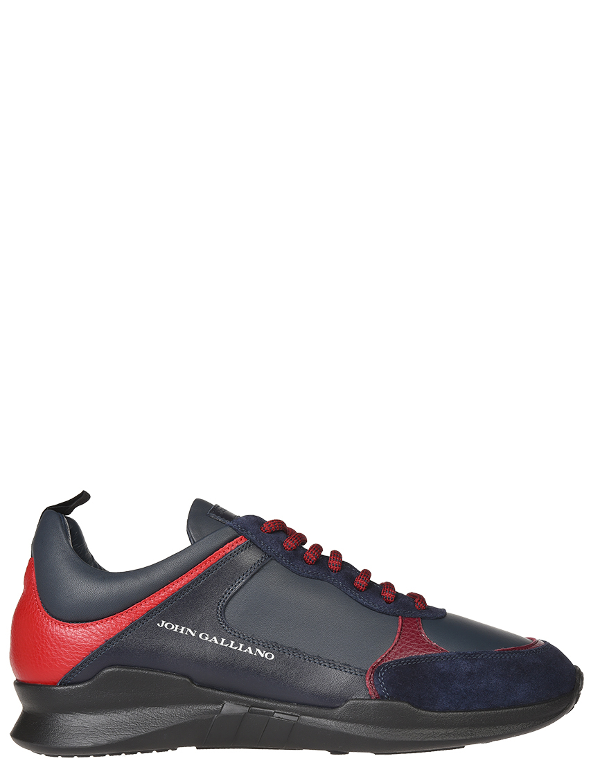 Мужские кроссовки John Galliano 5636-blunotte-mix_blue
