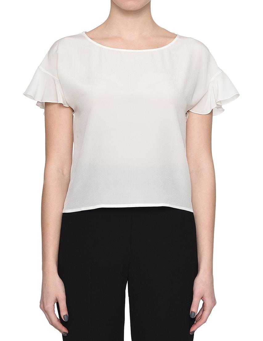 Купить Блуза, PATRIZIA PEPE, Белый, 100%Шелк, Весна-Лето