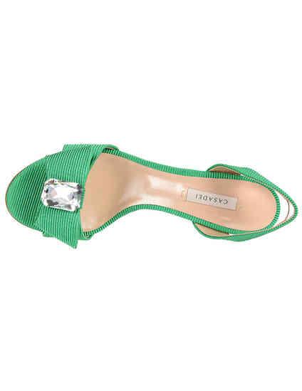 зеленые Босоножки Casadei 545-green размер - 36; 37; 39.5