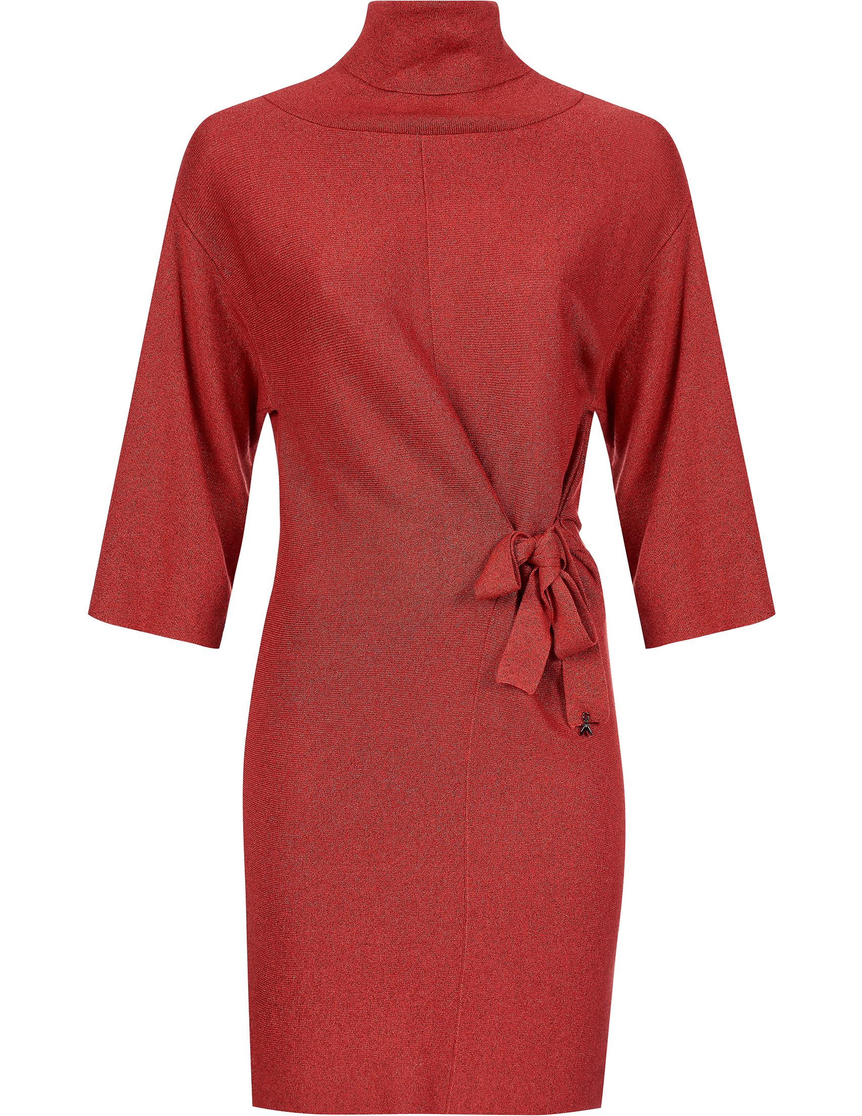 Купить Платья, Платье, PATRIZIA PEPE, Красный, 75%Вискоза 15%Полиамид 10%Полиэстер, Осень-Зима
