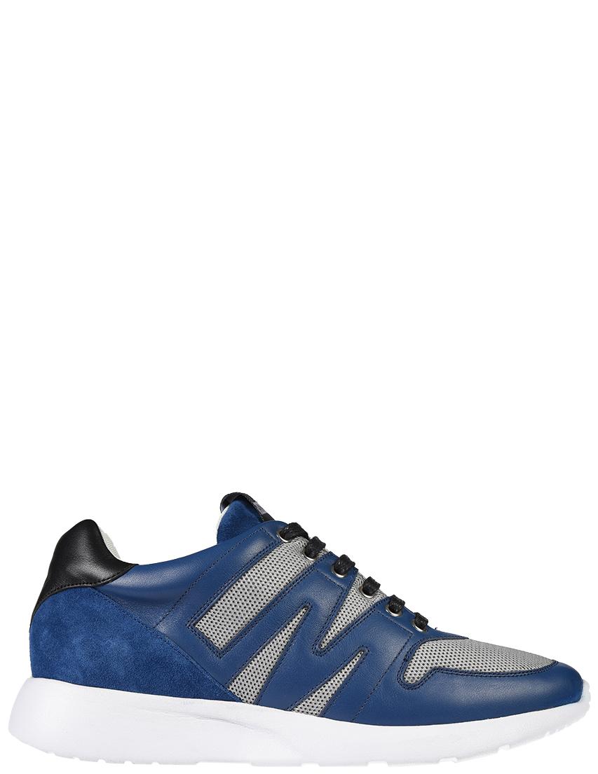 Мужские кроссовки Love Moschino 3987_blue