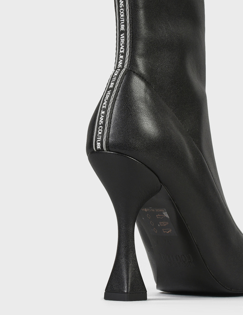 женские черные Ботильоны Versace Jeans Couture 71VA3S86-899 - фото-7