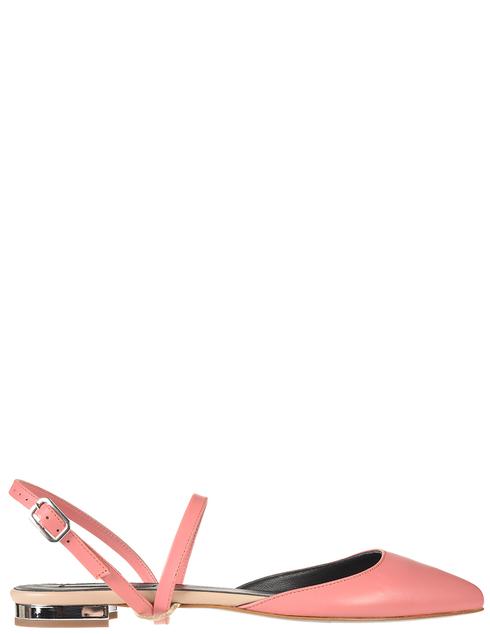 женские розовые кожаные Босоножки Patrizia Pepe 2V8776/A3KW-R630 - фото-5
