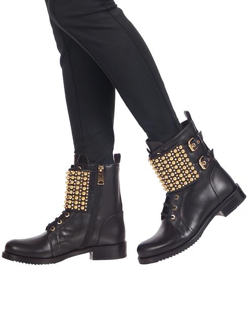 женские черные Ботинки Loriblu 81K2T248KK - фото-6