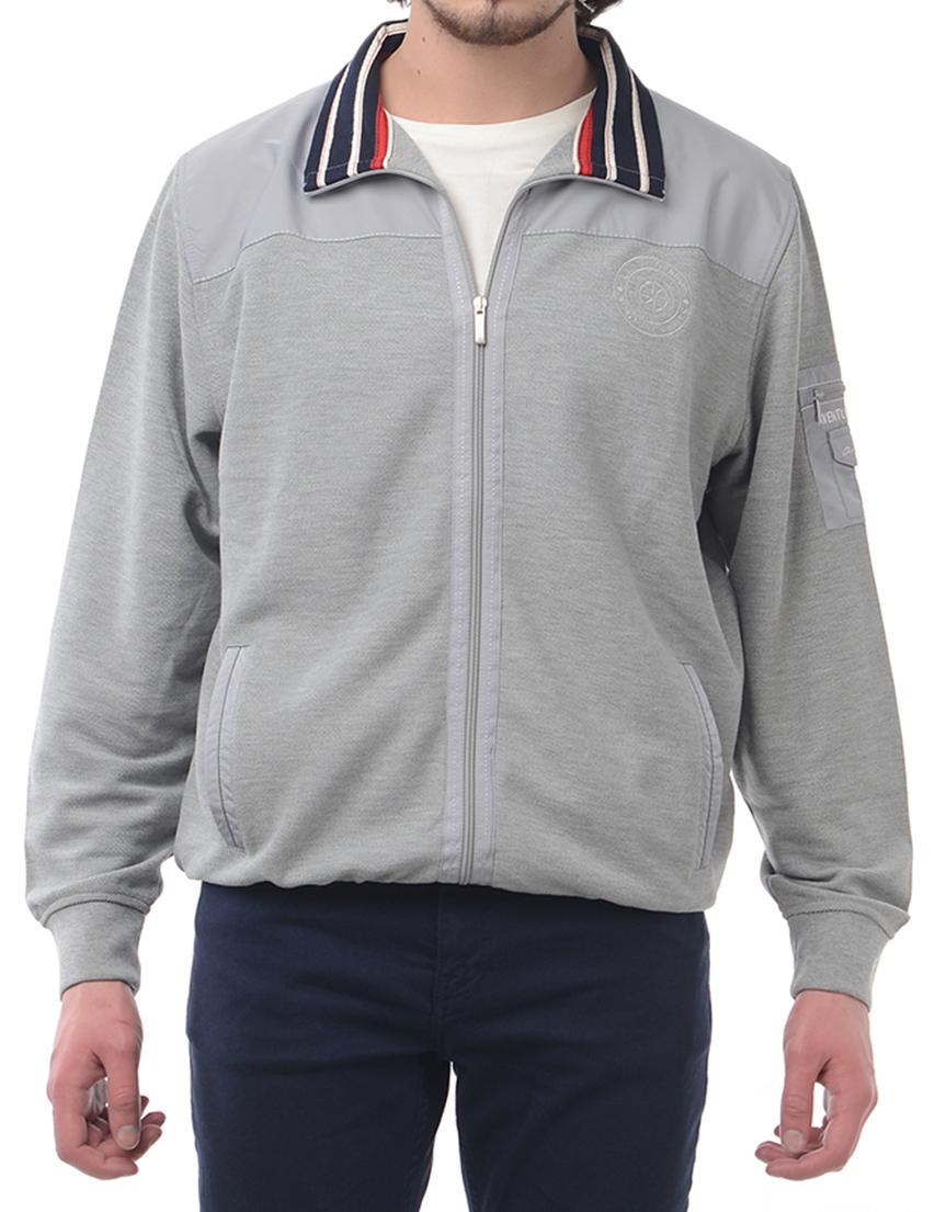 Мужская спортивная кофта CHRISTIAN BERG 3102-grey