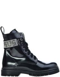 Детские ботинки для девочек 4US Cesare Paciotti 33834_black