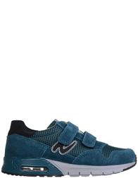 Детские кроссовки для мальчиков Naturino Benny-petrolio-nero_green