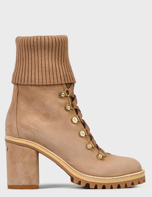 женские бежевые Ботинки Le Silla 7406R080 - фото-7